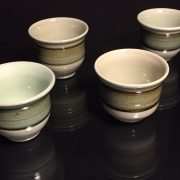 Four-Artisan-Signed-Tea-Cups